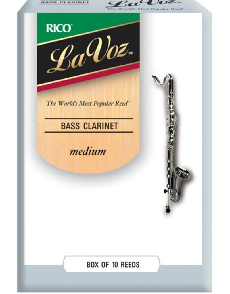 D'Addario La Voz Bass Clarinet Reeds - Box of 10
