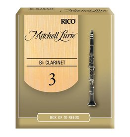 D'Addario Mitchell Lurie Bb Clarinet Box of 10 Reeds