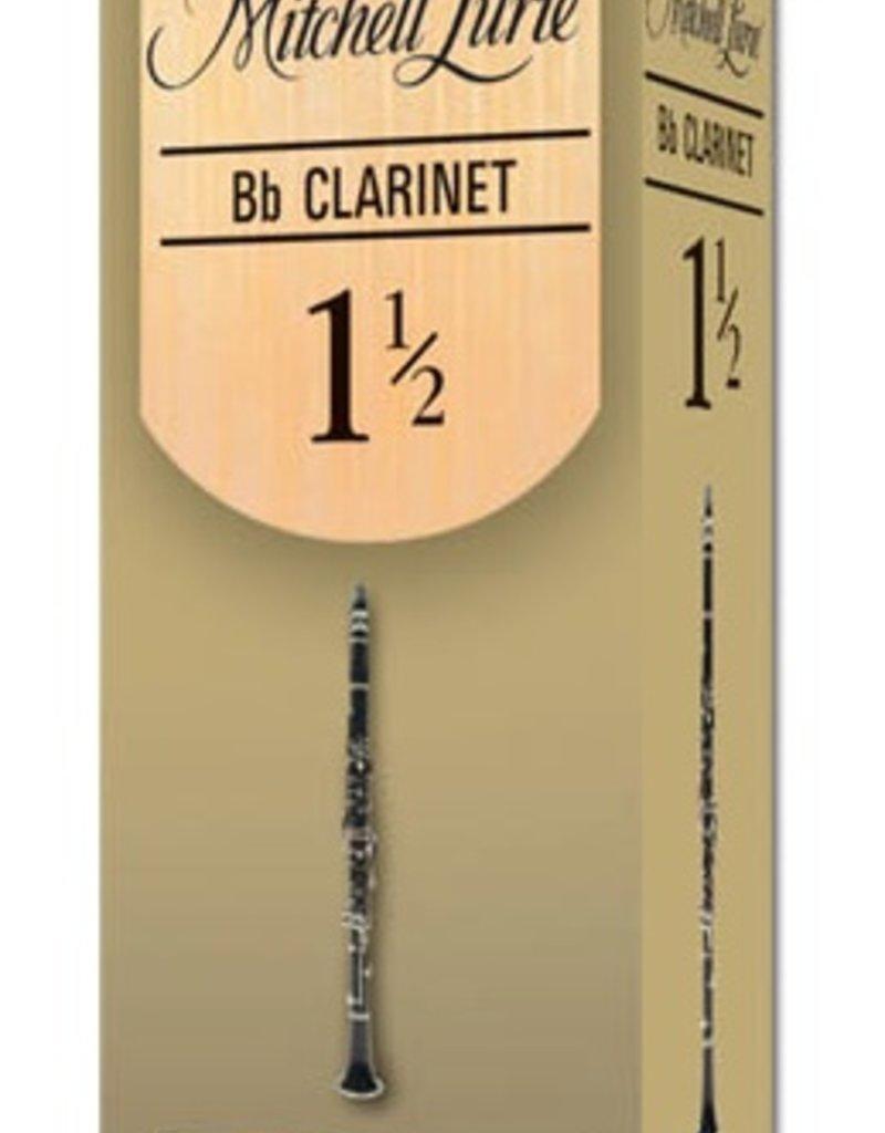 D'Addario Mitchell Lurie Premium Clarinet Reeds Box of 5