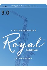 D'Addario Royal Alto Sax Reeds - Box of 10
