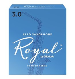 D'Addario Royal Alto Sax Box of 10 Reeds