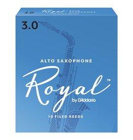 D'Addario Royal Alto Sax Reeds - Box of 10