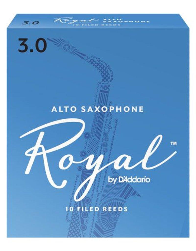 D'Addario Royal Alto Sax Box of 10 Reeds