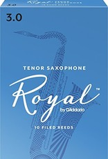 D'Addario Royal, by D'addario Tenor Sax Box of 10 Reeds
