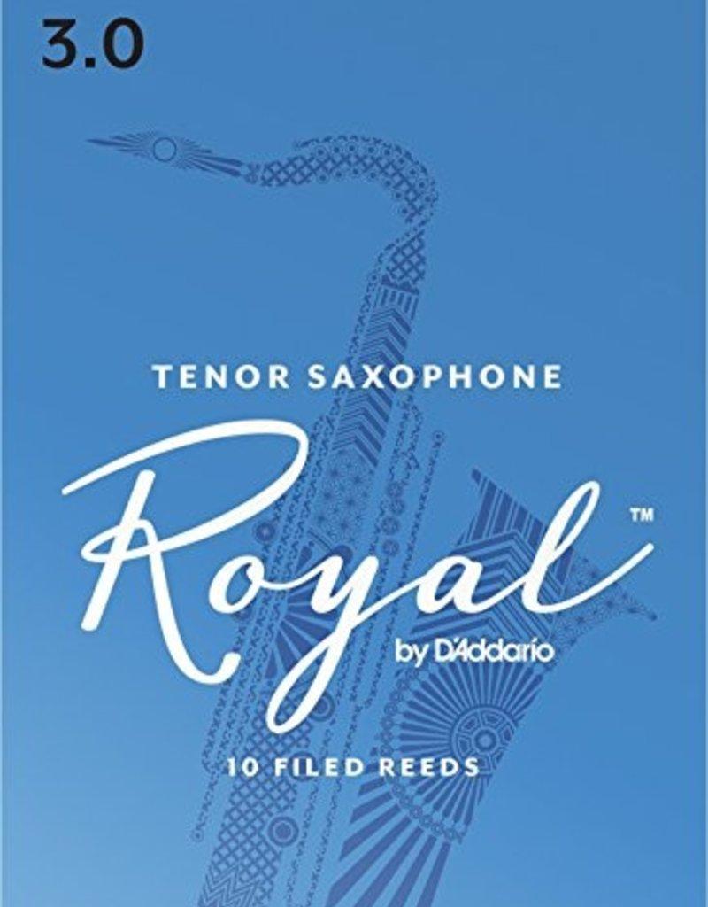 D'Addario Royal Tenor Sax Reeds - Box of 10