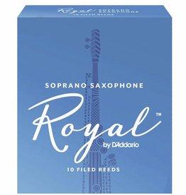 D'Addario Royal Soprano Sax Reeds - Box of 10