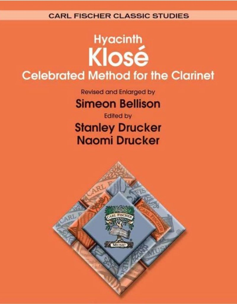 Klose Celebrated Methods for Clarinet