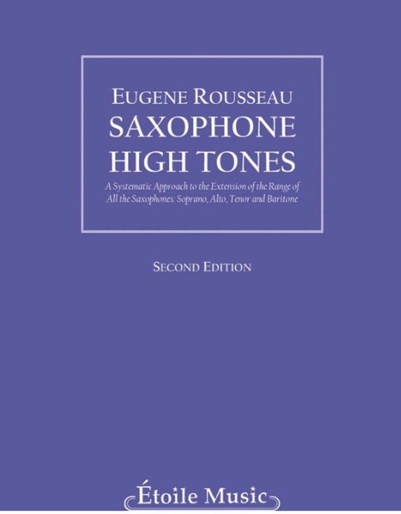 Hal Leonard Saxophone High Tones, Eugene Rousseau