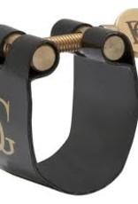 BG Jazz Ligature & Cap Alto Sax Metal MP- Beechler Bellite LFJ4