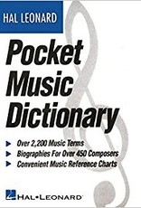 Hal Leonard Pocket Musical Terms Dictionary