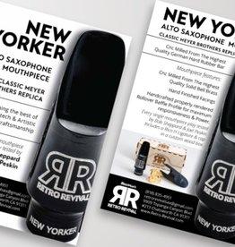 Retro Revival Retro Revival 'New Yorker' Alto Saxophone Mouthpiece Small chamber