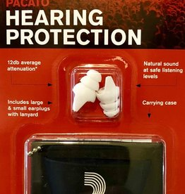 D'Addario Pacato Hearing Protection (ear plugs)