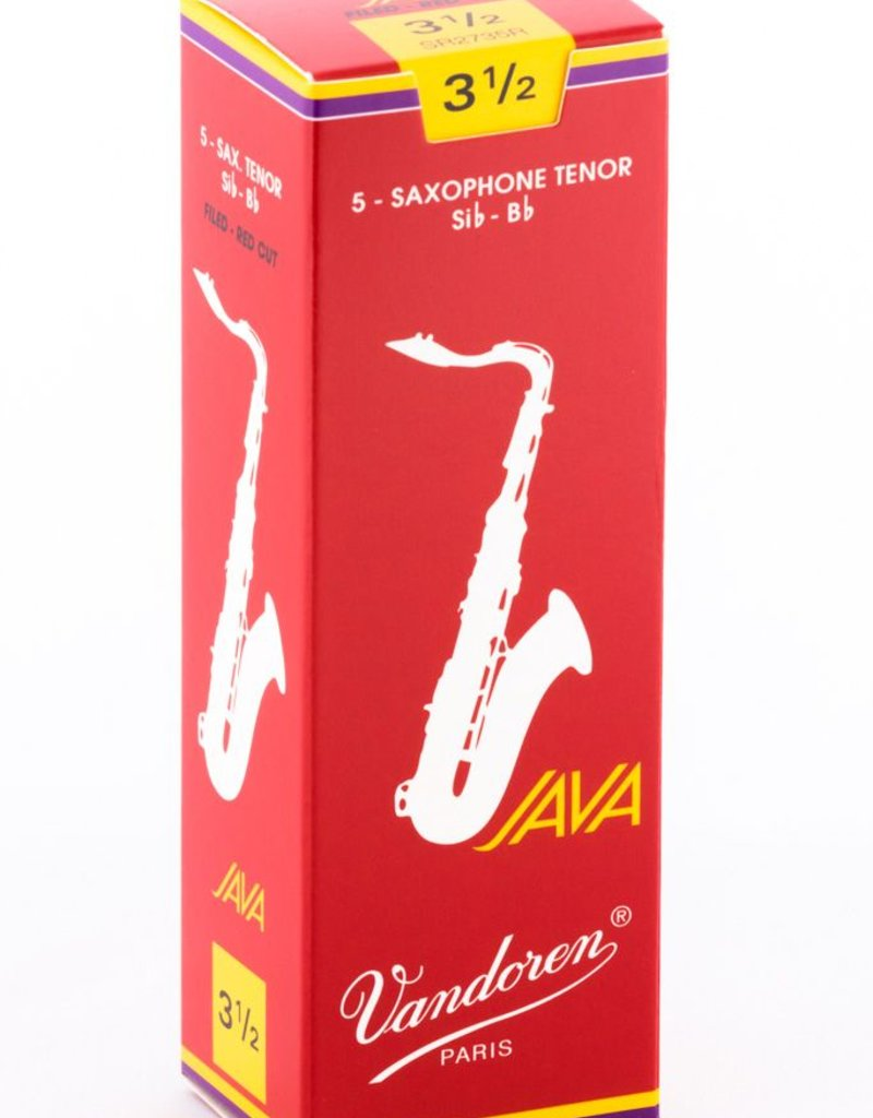 Vandoren Vandoren Java Red Tenor Sax Box of 5 Reeds