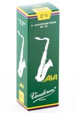 Vandoren Java Green Tenor Sax Reeds - Box of 5