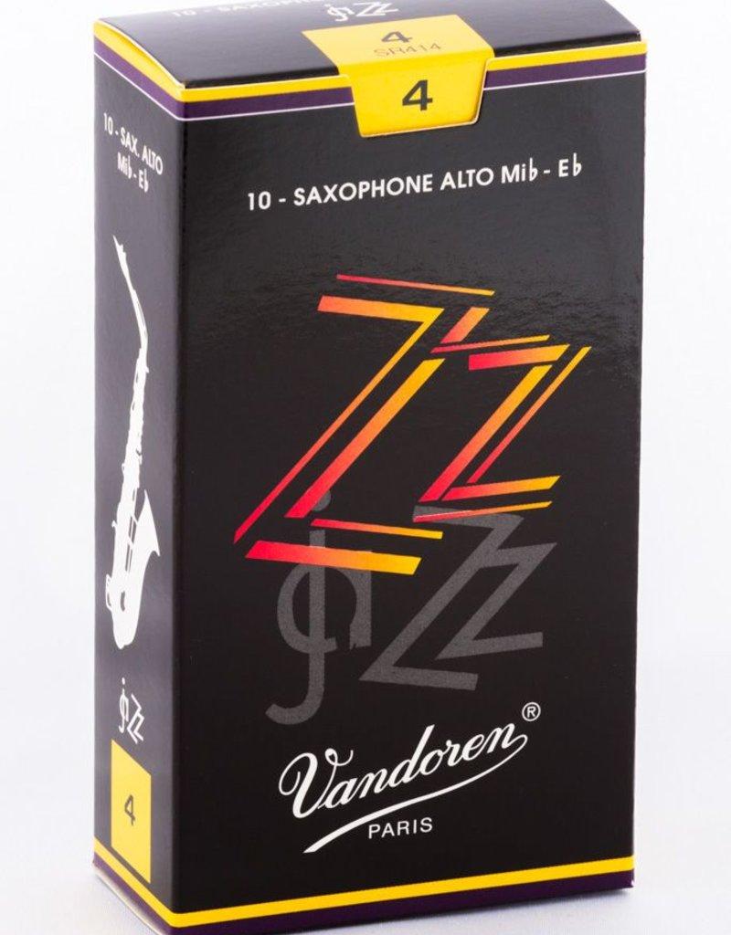 Vandoren ZZ Alto Sax Reeds - Box of 10