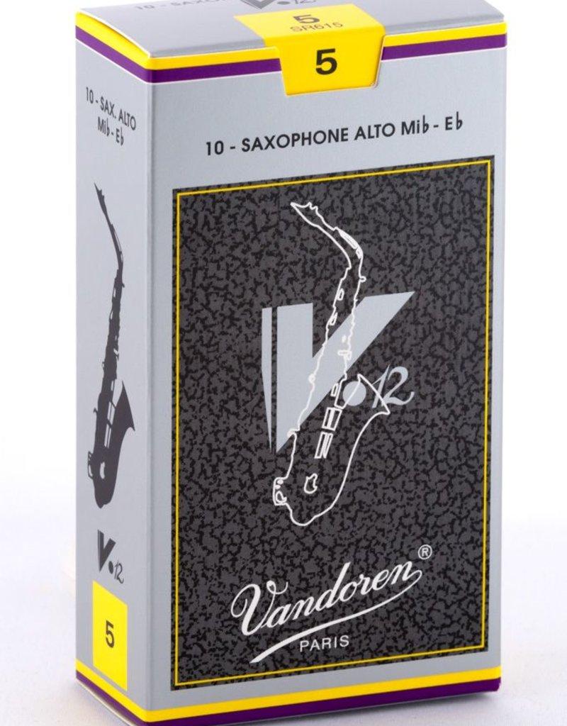 Vandoren Vandoren Alto Sax Reeds V12 Box of 10