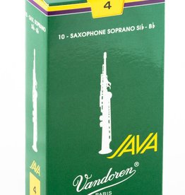 Vandoren Vandoren Java Green Soprano Sax Box of 10 Reeds