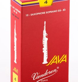 Vandoren Java Red Soprano Sax Reeds - Box of 10