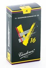 Vandoren V16 Soprano Sax Reeds - Box of 10