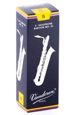 Vandoren Traditional Baritone Sax Box of 5 Reeds