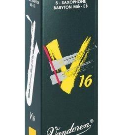 Vandoren V16 Baritone Saxophone Reeds, Box of 5