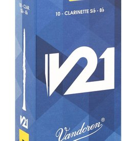 Vandoren V21 Bb Clarinet Box of 10 Reeds