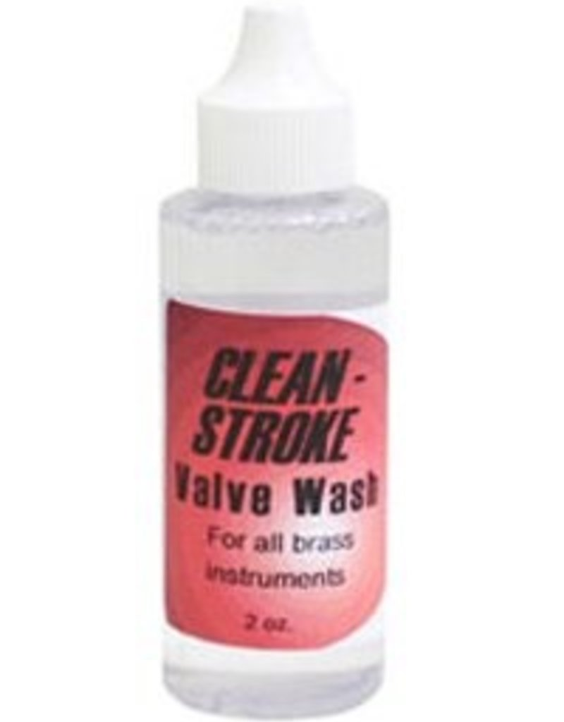 Warburton Clean Stroke Valve Wash for all Brass Instruments