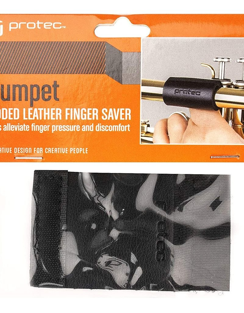 Protec Trumpet Padded Leather Finger Saver