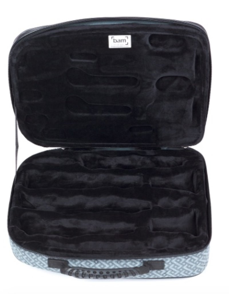 Bam Bam Original Double Clarinet Case, Katyushka Grey