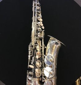 Temby Australia Secondhand Custom Black and Silver Alto Saxophone