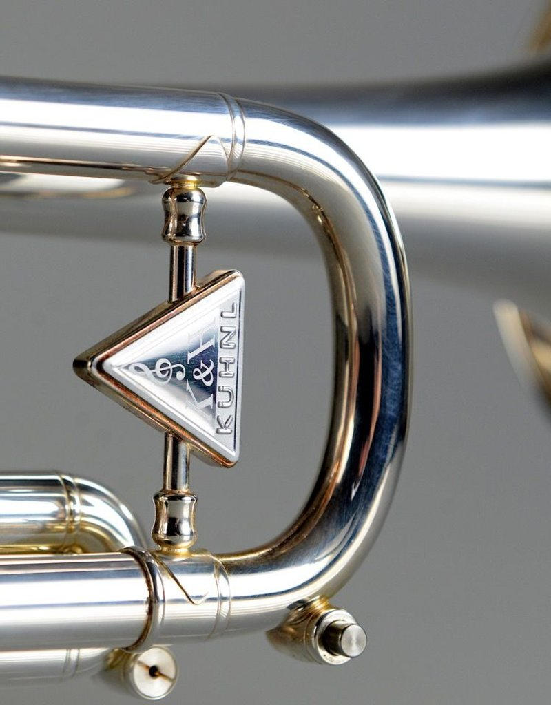 Kuhnl & Hoyer K'hnl & Hoyer Spirit Bb Trumpet - Silver - S/O - Maw Valves