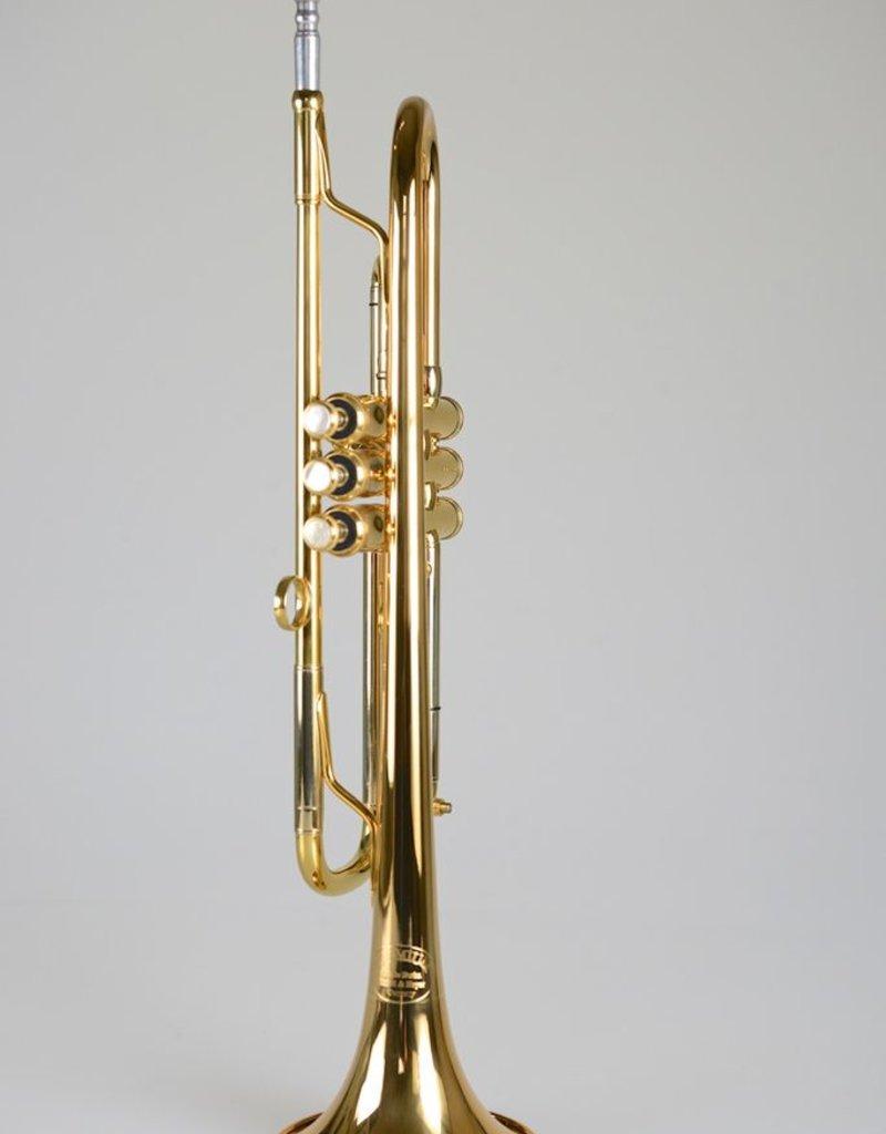 Kuhnl & Hoyer Malte Burba Trumpet w/MAW Valves - Gold Lacquer