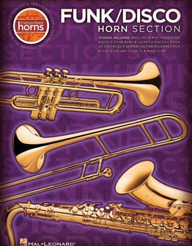 Closer Look Horn Section Transcribed Horns