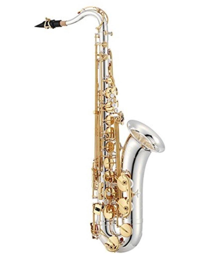 Jupiter JTS1100S Professional Tenor Saxophone Silver w/ Gold Keywork