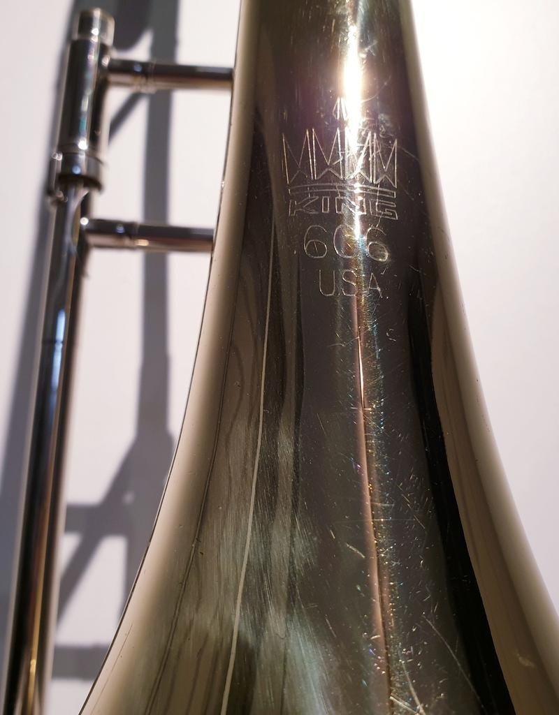 King Consignment King 606 student Bb trombone