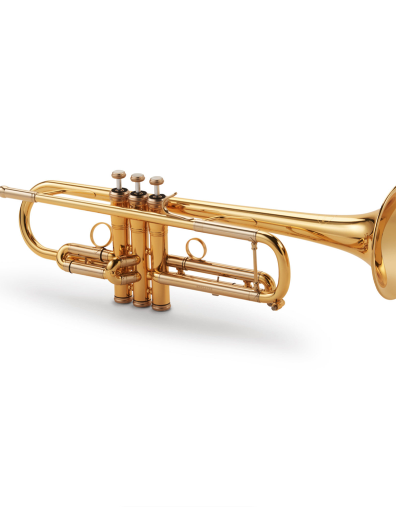Kuhnl & Hoyer Revision Professional Trumpet - Gold Lacquered