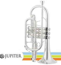 Jupiter JCR700S Bb Cornet - Silver Plated