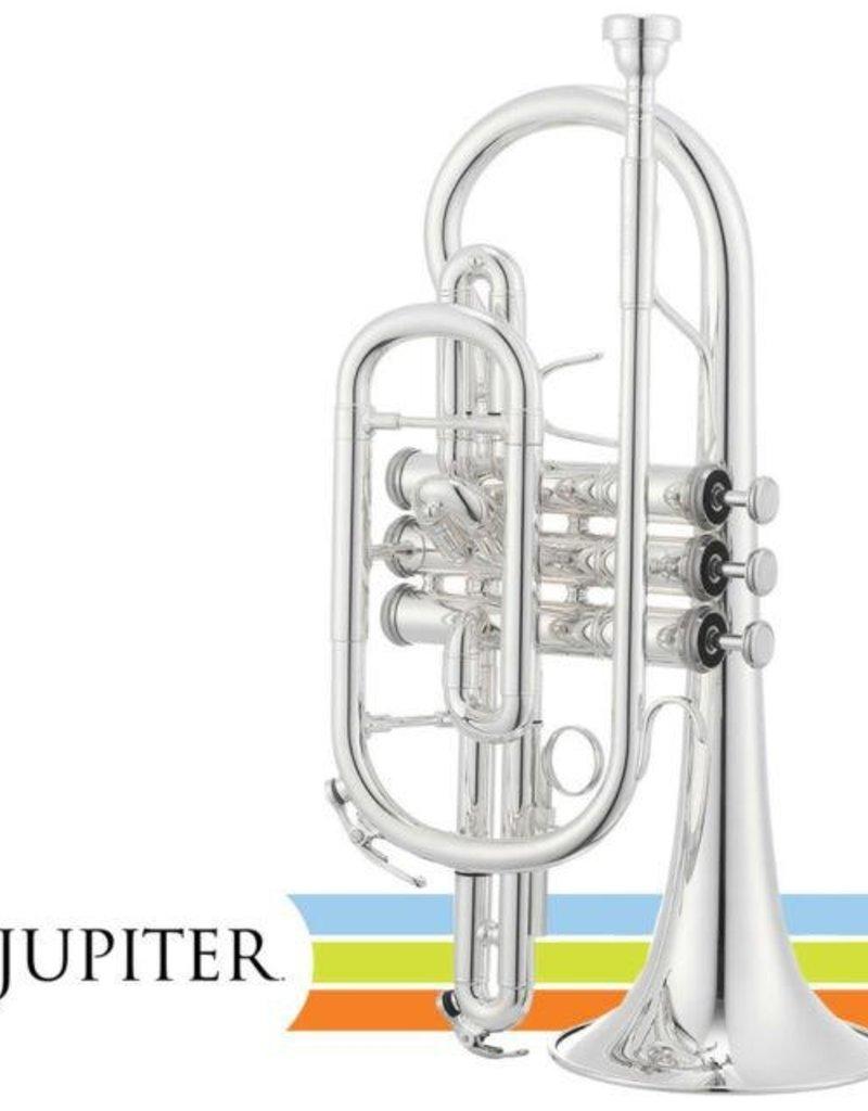 Jupiter JCR700 Bb Cornet Silver Plated