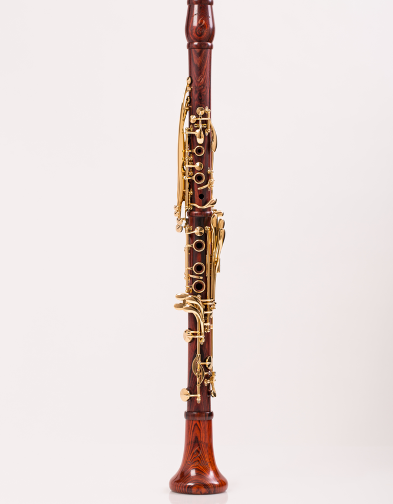 Backun MOBA Bb Clarinet Cocobolo Gold Plated Keywork