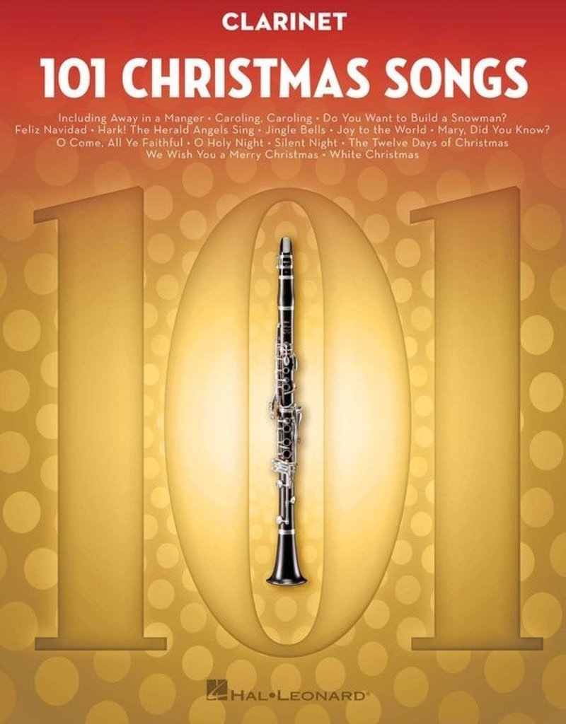 Hal Leonard 101 Christmas Songs For