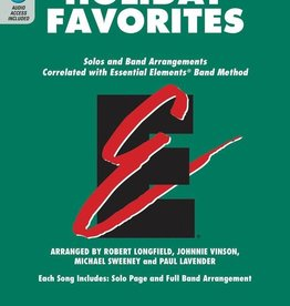Hal Leonard Holiday Favourites BK/OLA