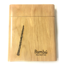 Bambu Wooden Hand-Made Reed Case for Oboe.