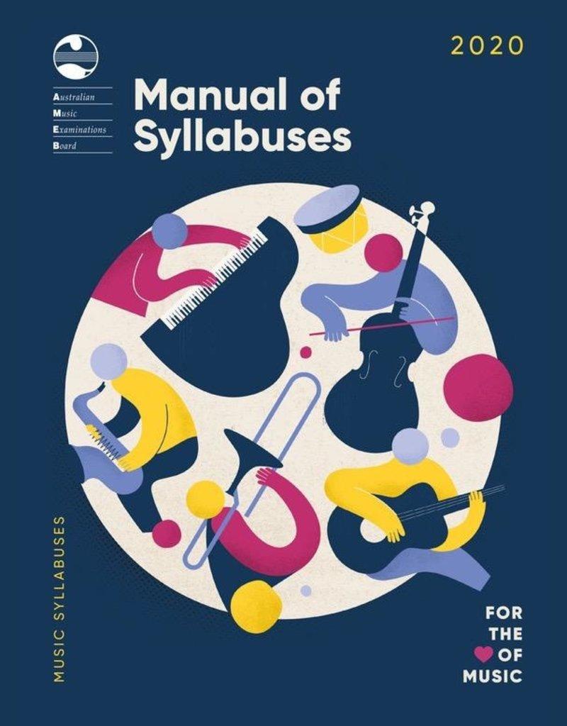 (blank) AMEB Manual of Syllabuses (2018)