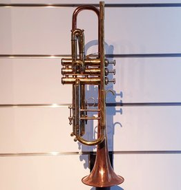 Custom US Made Trumpet w/Copper Bell - Consignment