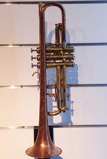 Custom US Made Bb Trumpet w/ Copper Bell - Consignment