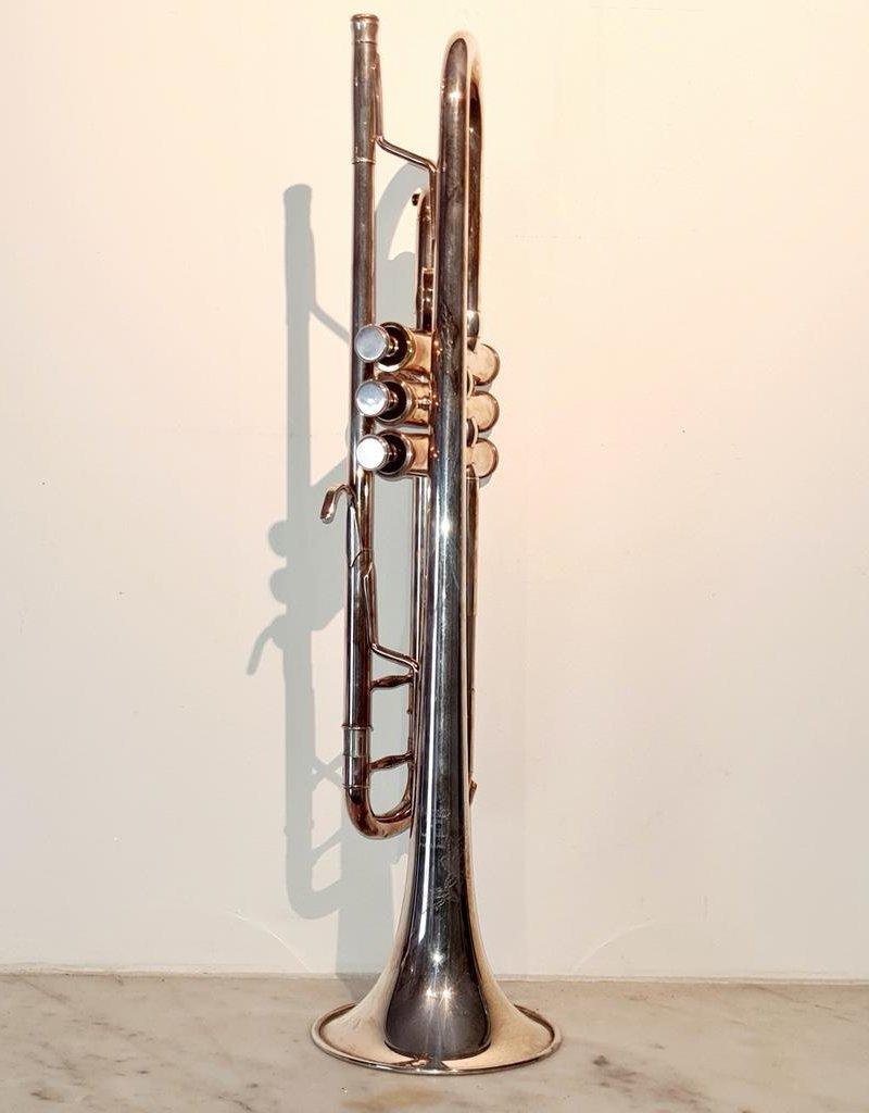 Temby Australia Ex-Demo Professional Silver Bb Trumpet