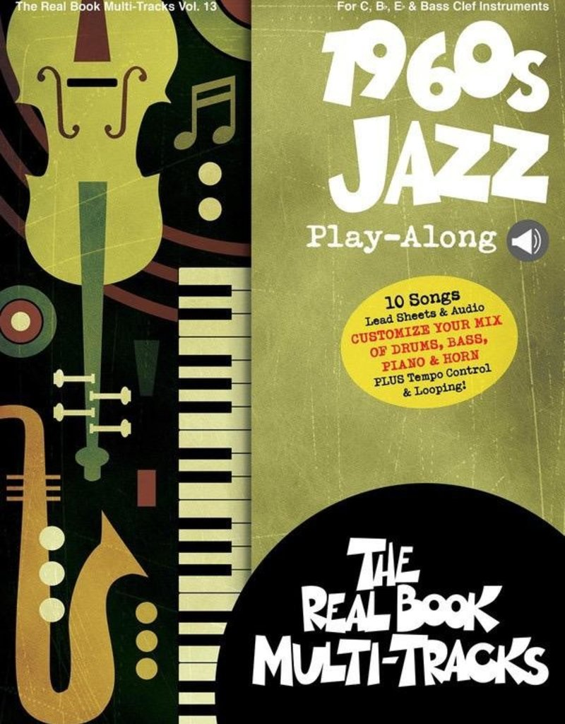 Hal Leonard 1960s Jazz Playalong V13 bk/OLM
