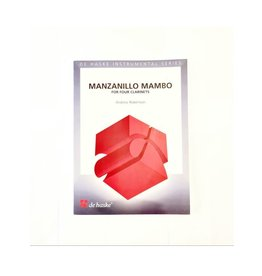 De Haske Publications Manzanillo Mambo Clarinet Quartet - 4BB