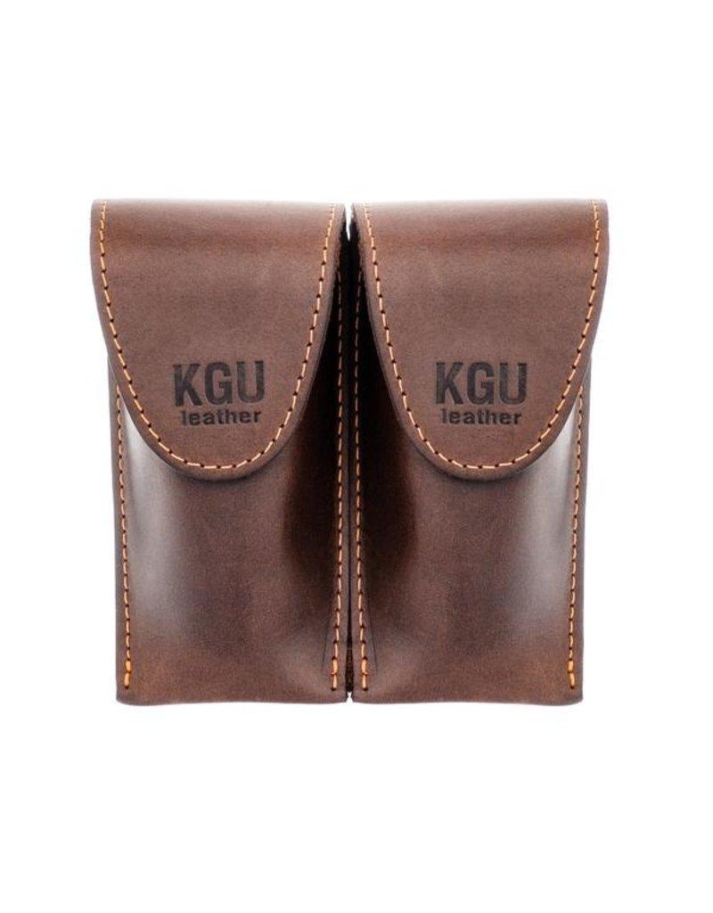 KGU Brass Trombone Leather Mouthpiece Pouch