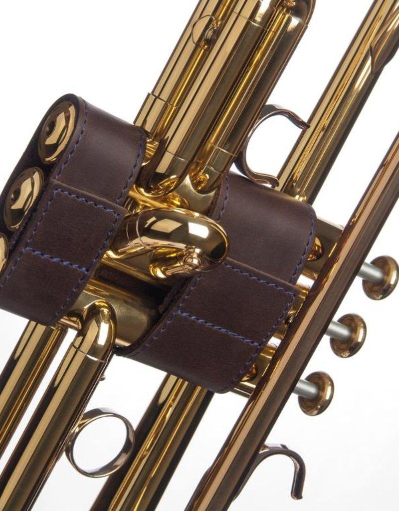 KGU Brass Trumpet Leather Valve Guard - Various